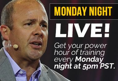 Todd Falcone Monday Night Live Training Call
