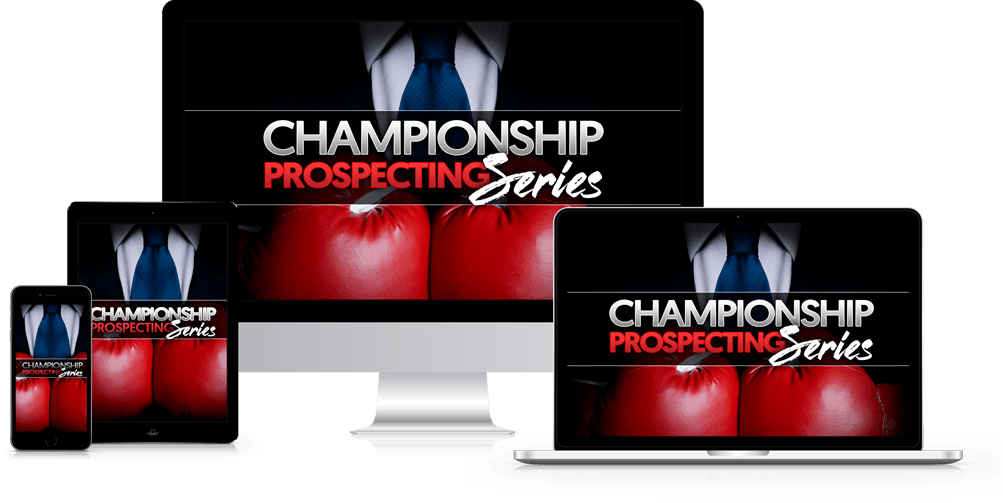 Todd Falcone - Championship Prospecting Series
